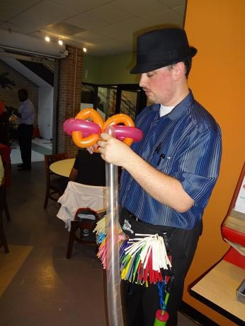 Balloon Sculptor Cody Tackett