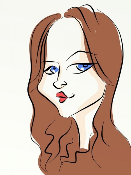 Jeanette Madden Party Caricature
