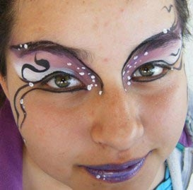 Face paint by Lilly Walters