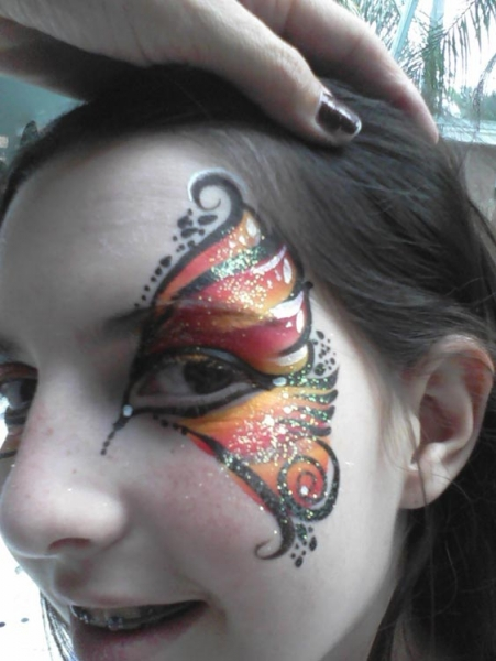 Face paint by Gaby Milner