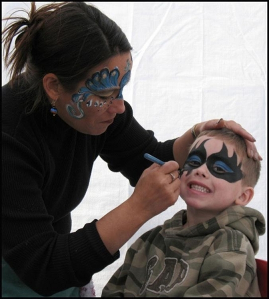Face paint by Manja Warner