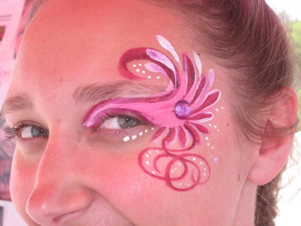 Face paint by Trish Daniels