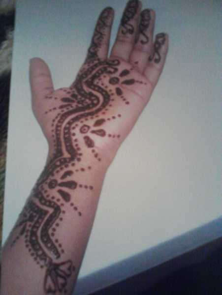 Henna Tattoo by Robina Bell