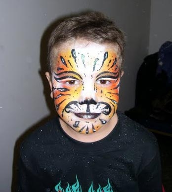Face paint by Heather Yanyo