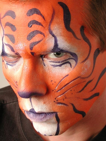 Face paint by Jami Ross