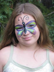 Face paint by Mandy Tardif
