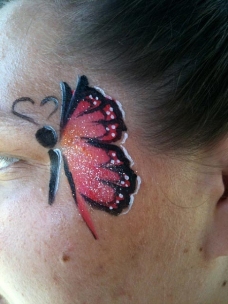 Face paint by Mindy Cockrell