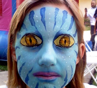 Face paint by Tracy Kiggen