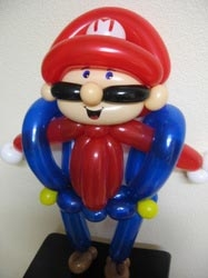 Balloon Sculpture by Cinda Roth