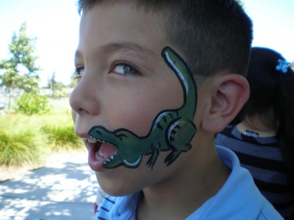 Face paint by Sue Lomolino