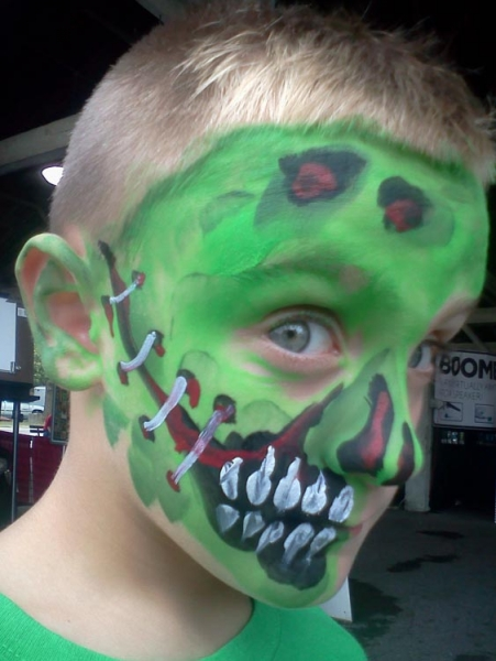 Face paint by Jason Hay