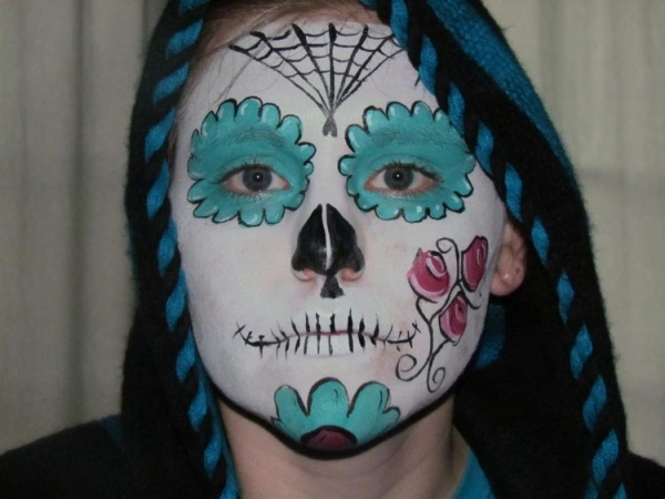 Face paint by Pam DePace
