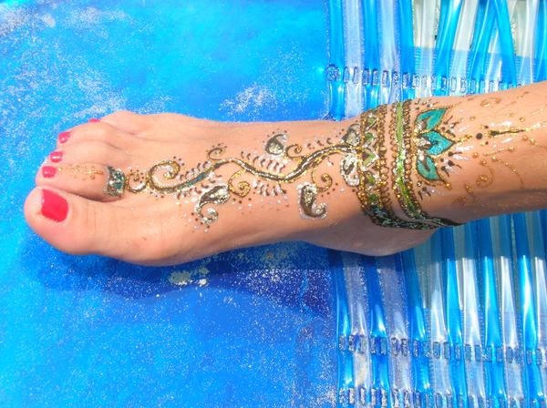 Henna Tattoo by Jenna Forte