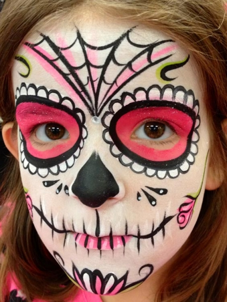 Face paint by Roberta Mandella