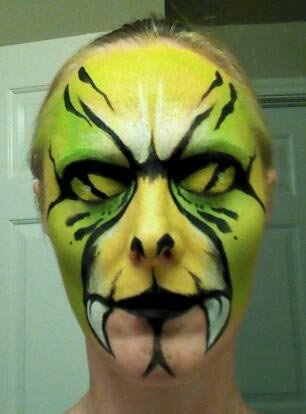 Face paint by Lisa Eklund