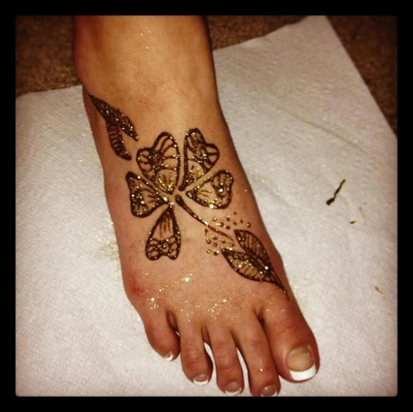Henna Tattoo by Amy Miller