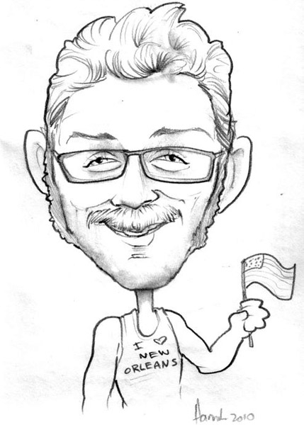 Hannah Roark Party Caricature