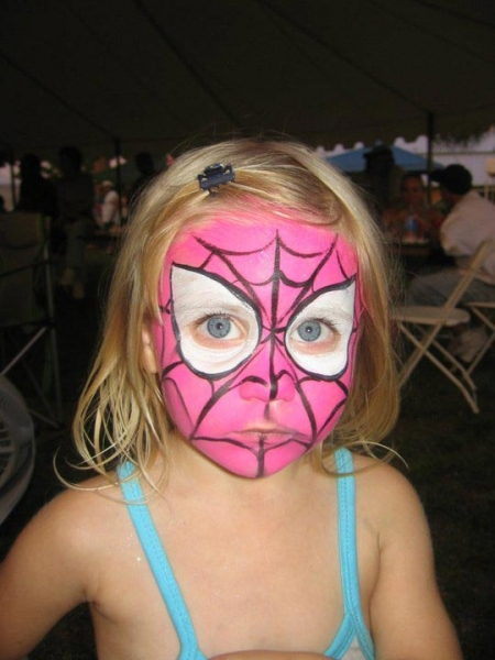 Face paint by Darcy Manos