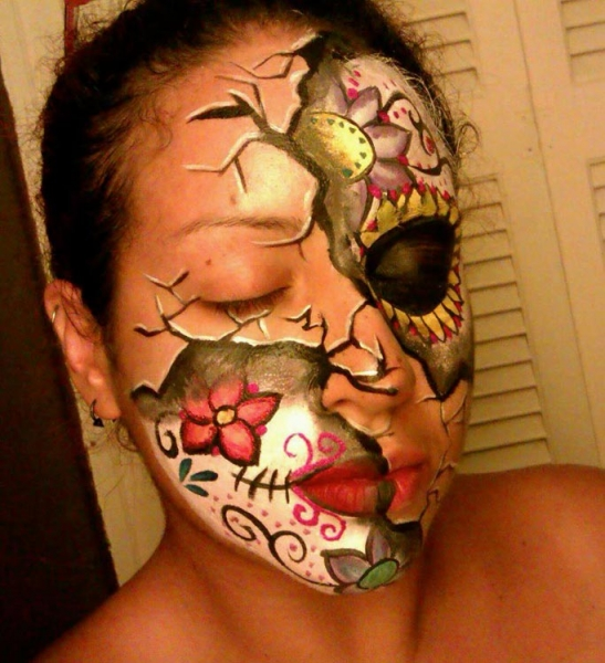 Face paint by Lavinia Solano