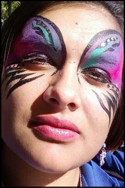face painting by Donna H