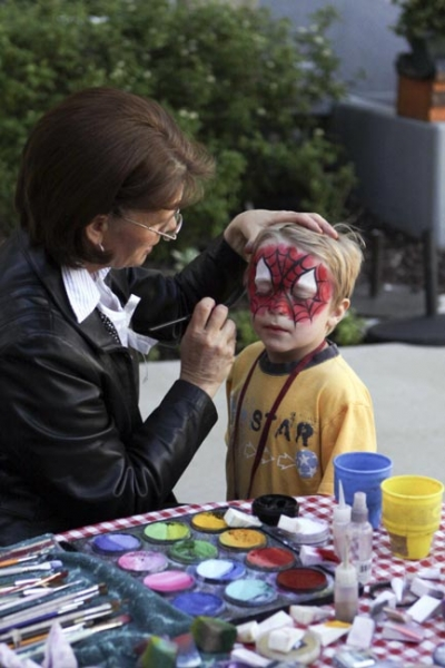 Face Painting by Puddles