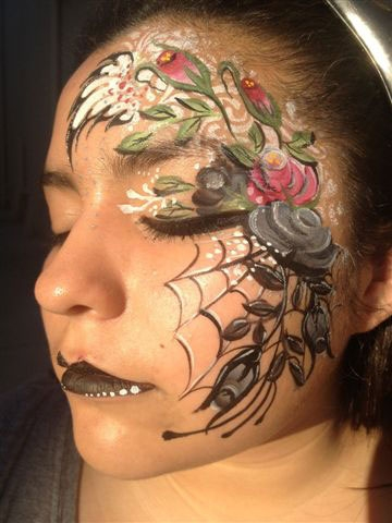 Face painting by Therese B