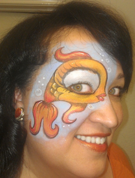 face painting by Arvis G