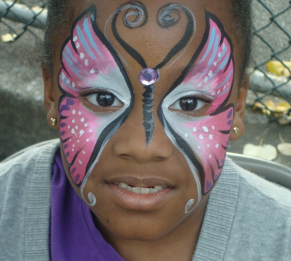 face painting by Vicky L