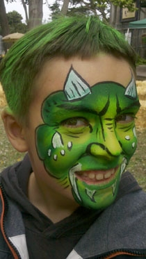 Face Painting by Jesai Bancroft