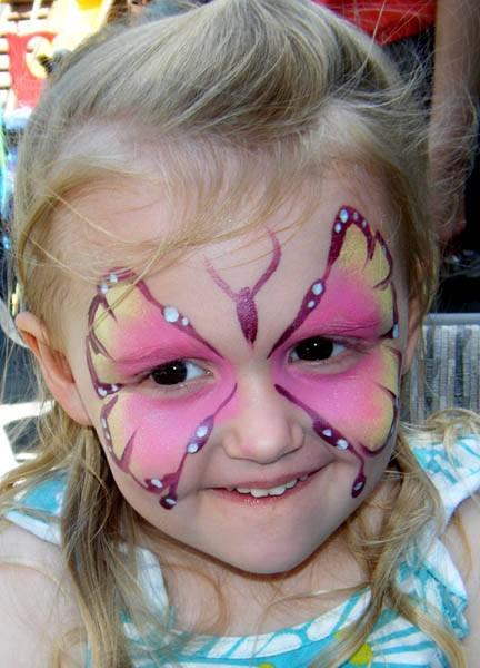 Face Painting by Larissa Symbouras