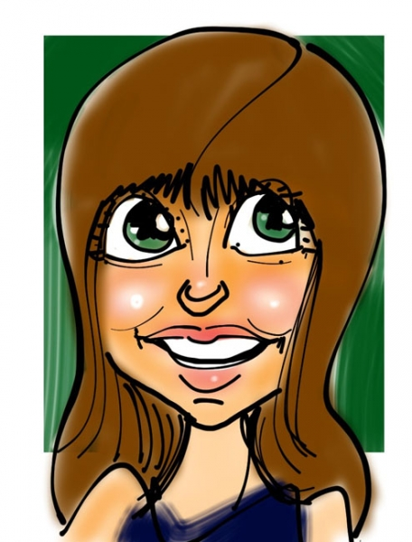 Ty Walls Digital Party Caricature