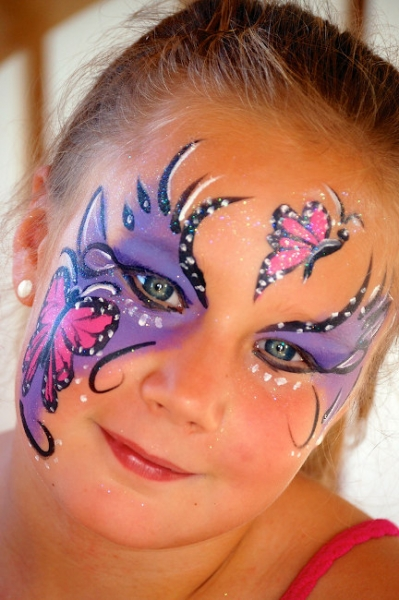 Face Painter Terry Jarratt