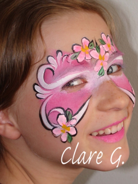 Face Painter Clare Grindy