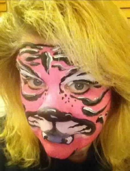 Face Painter Jeannie Hayes