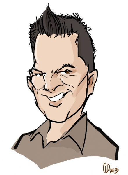 Greg Dohlen Digital Party Caricature