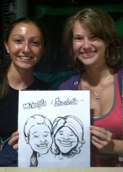 Anthony Devito Party Caricature