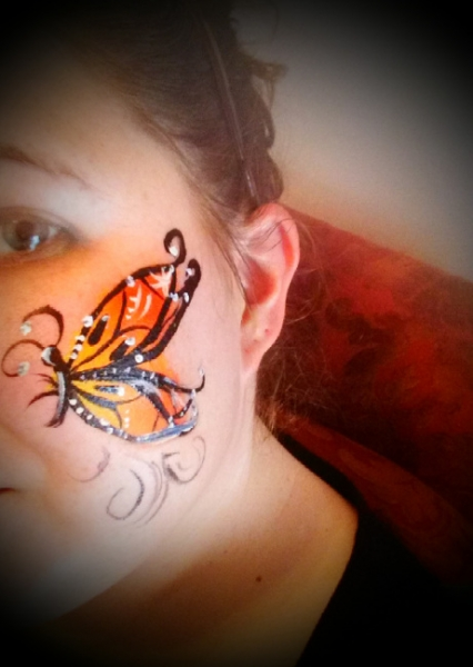 Face Painter Kimberly Gonzalez