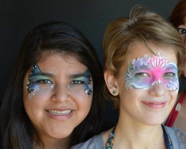 Face Painter Camille Eastin