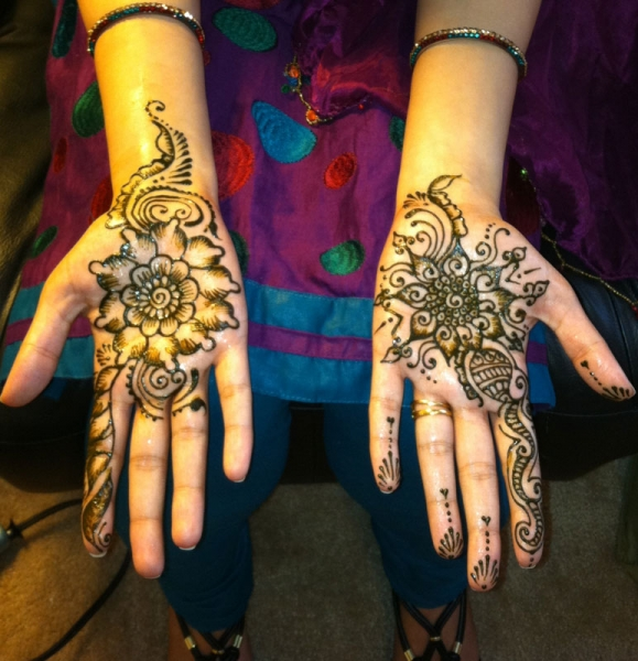 henna design by Rupali Langote