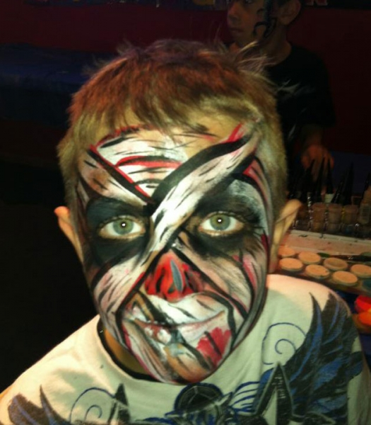 image of face paint design by miryam janssen