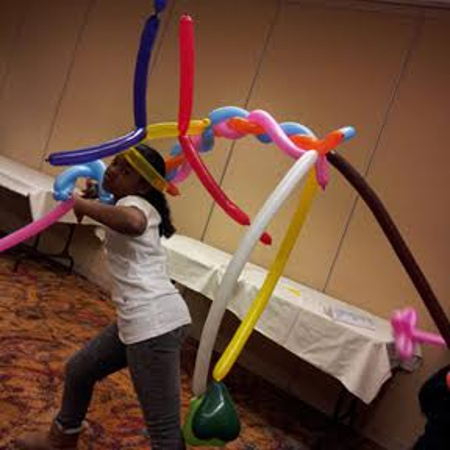 Balloon Sculptor Jerry Connor