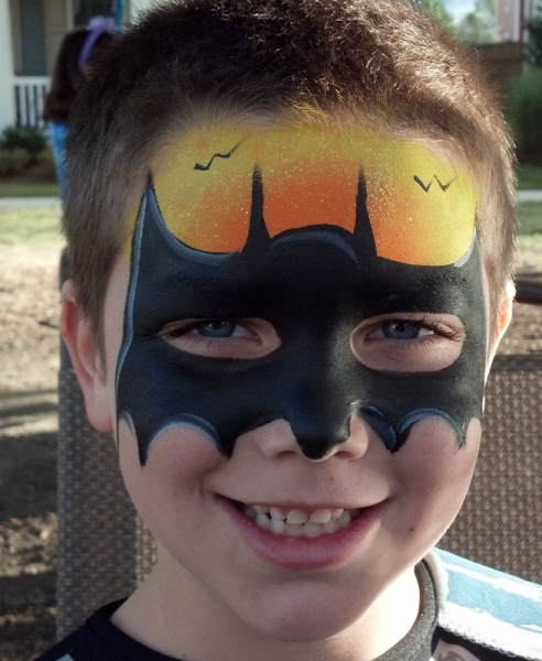 face painting by face painter alaina kissinger