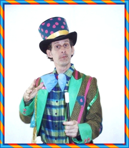 Magician Eddy Rice Flappy T Clown