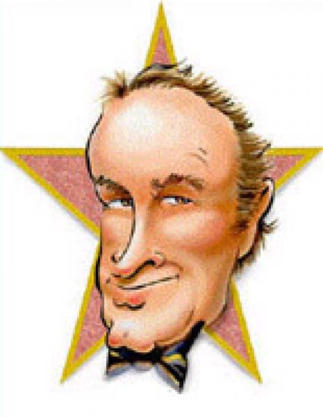 Bob Hope caricature by John Alex