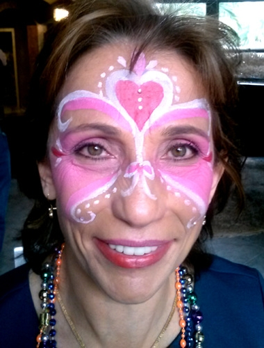 Face Painter Beverly Barris