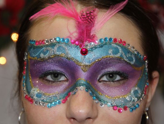 face painting by debra capperune
