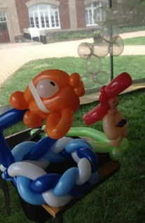 balloon creation by Chuck Flayhart