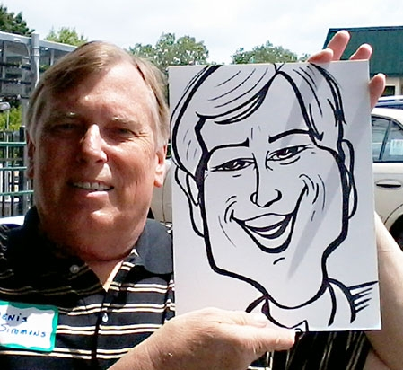 Peter Signorello Party Caricature