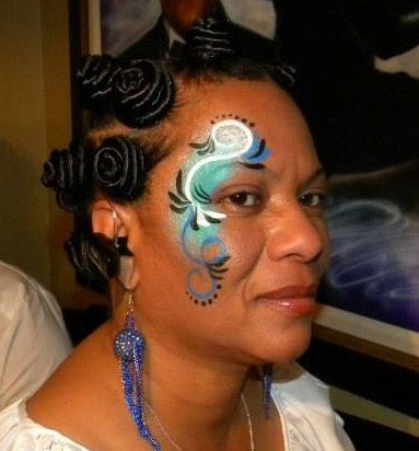 face painting by nakeemi hawkins