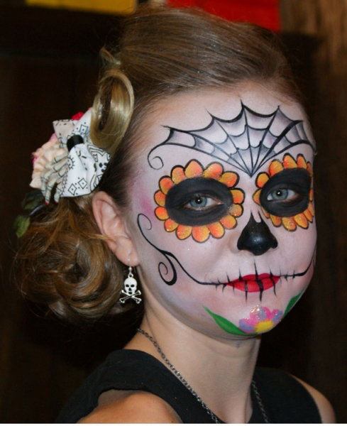 face painting by betsy quezada
